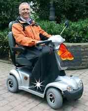 Regenbeinschutzdecke + Tasche Rollstuhl Regenschutz Regen Decke Scooter