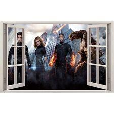 Adesivi finestra Il 4 Fantastico ref 11134