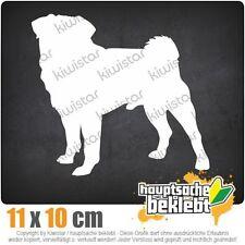 Mops Hundrasse Pug Carlin csf0742  JDM  Sticker Aufkleber