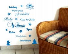 Wandtattoo Wellness Creativ-Set Wandsticker   25 Farben 8 Größen