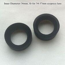 Gummi Okular Augenmuschel für Verschiedene Modelle Mikroskop Teleskop