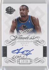 2013-14 Panini Flawless Autographs #FL-GH Grant Hill Detroit Pistons Auto Card