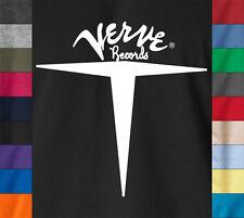 VERVE RECORDS Vintage 100% Ringspun Cotton T-Shirt Jazz Soul Breaks Label Tee