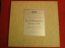 BOX 2*LP J S BACH-DAS WOHLTEMPERIERTE- JAPAN PRESS ARCHIV 198311/12