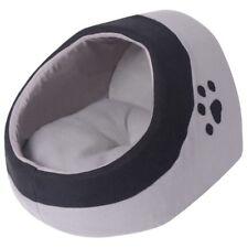 Cama para Mascotas Tipo Nido Gatos con Cojín Color Gris y Negro Medidas M/L/XL