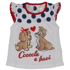 T-shirt neonata Disney Lilli e il Vagadonbo