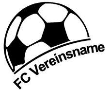 Fußball Verein Aufkleber Autoaufkleber Club Fussballclub Fussballverein  (90/9)