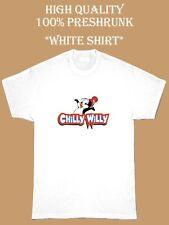 Chilly Willy Retro Cartoon White Graphic T Shirt