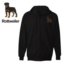 ROTTWEILER DOG ZIPPER HOODIE SWEATSHIRT JACKET TRAINING SHIRT
