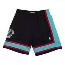 Men's Mitchell Ness Vancouver Grizzlies 2001-02 Throwback Swingman Black Shorts