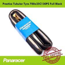 Panaracer Practice Tubular Tyre 700x25C Bike Tire Road Cycling 130PS Full Black