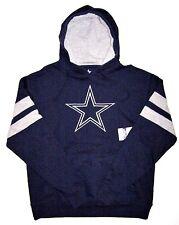 NFL Dallas Cowboys Men's CB Rush IV Navy Gray Pullover Hoodie Sweatshirt Jacket