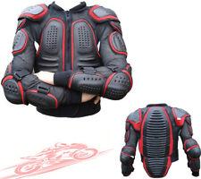 Rojo Negro Columna Protector Ce Protector Hombre Moto Protección Cubierta