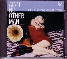 CHRISTINA AGUILERA Ain't No other Man EDIT & INSTRUMENTAL PROMO CD single