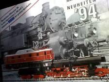 Catalogo treni  MARKLIN 1994 novità Tedesco
