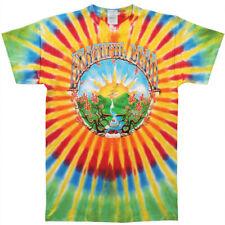Grateful Dead Men's  Sunrise Tie Dye T-shirt Multi