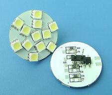 10pcs G4 White LED Bulb 12-5050 SMD LED Light DC 12V Pins on the back #YB
