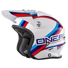 O 'Neal Slat Trial moto Roller JET CASCO CIRCUIT MOTORINO chiusura magnetica FIDLOCK