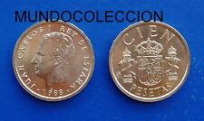 MONEDA 100 CIEN PESETAS 1988 Juan Carlos I S/C NUEVA - SPAIN Y#139