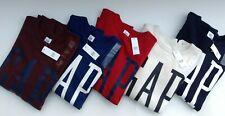 Men's Gap Logo Sweatshirt - Red, Burgundy, Blue, Navy, Stone - S-XL New with tag