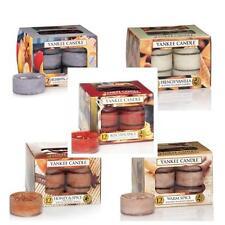 YANKEE Candle Food & Spice LUMINI TEA LIGHTS varietà