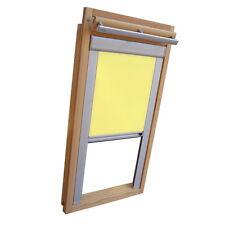 Verdunkelungsrollo Rollo Dachfensterrollo für Velux GGU/GPU/GHU - gelb