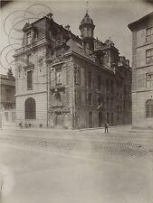PLAQUE ALU DECO PHOTO EUGENE ATGET HOTEL LAVALETTE DE FIEUBERT PARIS 1900