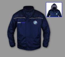 Herren BMW Windbreaker Jacke Motor Sport Bestickt Kleidung - Jacket Grosse S-3XL