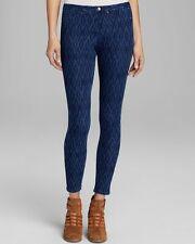 HUE Blue IKAT Skinny Stretch Jeanz Legging  - MSRP $44