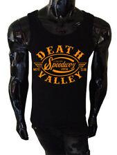 Mens Death Valley Speedway Tank Top SCREENPRINTED Biker american route retro
