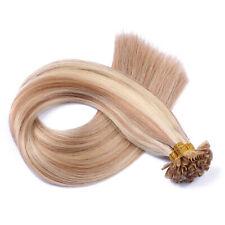 #12/613 Gesträhnt Keratin Bonding Extensions Hair 100% Echthaar Haarverlängerung