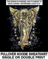 GRIM REAPER FALLEN ANGEL DEATH SKELETON WINGS SWORD SKULL HOODIE SWEATSHIRT 209