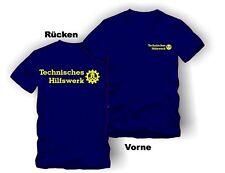 THW T-Shirt mit  Schrift NEONGELB !!TOP WARE