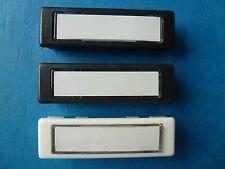 Klingeltaster, Kombitaster, 97-9-85110, div. Farben, Renz, Sykon, DAD, 75 x 22mm
