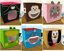Kids novelty Bedroom Playroom Dog,Hippo,Monkey,penguin, shark,frog Storage Box