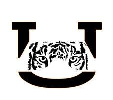 University of Auburn logo stencil - Reusable Pattern - 10 Mil Mylar