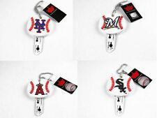 key jacket rubber holder keychain MLB PICK YOUR TEAM