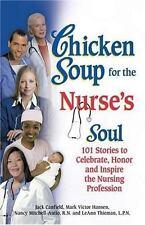 Chicken Soup for the Nurse's Soul FREE SHIPPING paperback book Nursing caregiver