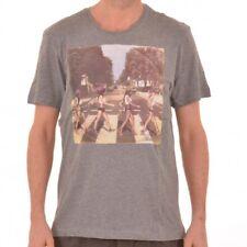 Bench Crossroad t-shirt camisa t-shirts señores Grey gris BMGA 3255 manga corta Camisa