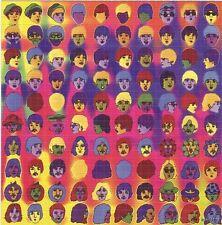 THE BEATLES JOHN LENNON RINGO BLOTTER ART 60s cartoon George Harrison McCartney