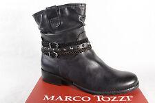 Marco Tozzi 25364 Damen Stiefel, Stiefelette, Boots schwarz/anthrazit NEU!