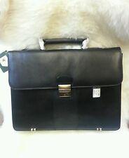 Visconti Leather Briefcase 01775 genuine leather