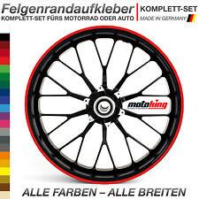 █████ Felgenrandaufkleber 12mm Roller Aufkleber █████
