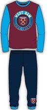 Chicos chicas Auténtico Nuevo Oficial West Ham FC Whufc Insignia Pijamas Edad 4-12 años