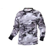 City (Urban) Camo LONG SLEEVE T-Shirt Army Marine Corps Police SWAT Paintball