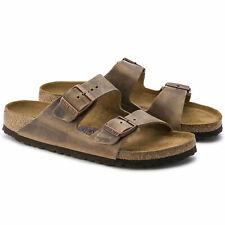 Birkenstock Arizona Soft Footbed Oiled Nubuck Leather [Tobacco Brown] Multi Size