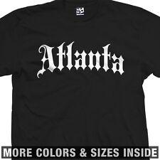 Atlanta Thug T-Shirt - ATL Hotlanta City Streetwear Old English - All Size/Color