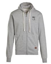 TCD Keep Calm & Count Money PREMIUM Full Zip Hoodie Sweatshirt Heather Grey Logo