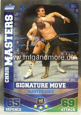 Slam Attax Mayhem #018 Chris Masters-Master Lock