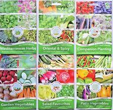 6 IN 1 MIXED HERBS SALAD/SPICY/GARDEN/PATIO VEGETABLES SEEDS GROW PLANTS